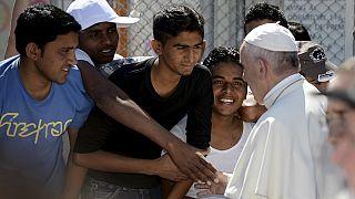 Grèce : l'appel du pape pour les migrants