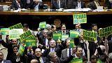 روسيف تشن هجوما على ما وصفته بالمؤامرة الإنقلابية ضدها قبل تصويت حاسم لمجلس النواب البرازيل
