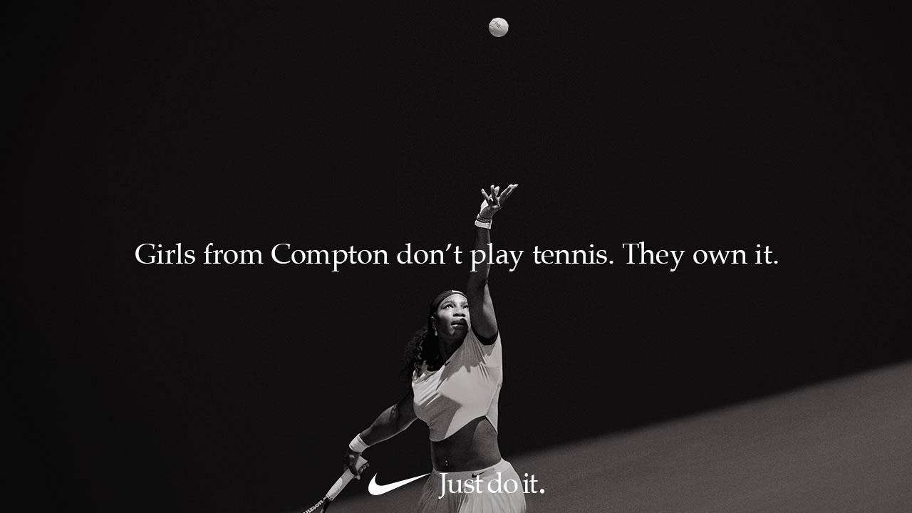 Image: Serena Williams' Nike ad