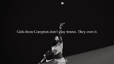 Serena Williams\' Nike ad
