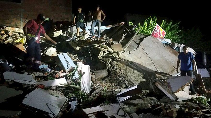 Forte scossa di terremoto in Ecuador