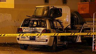Rendőröket támadtak meg Bahreinben