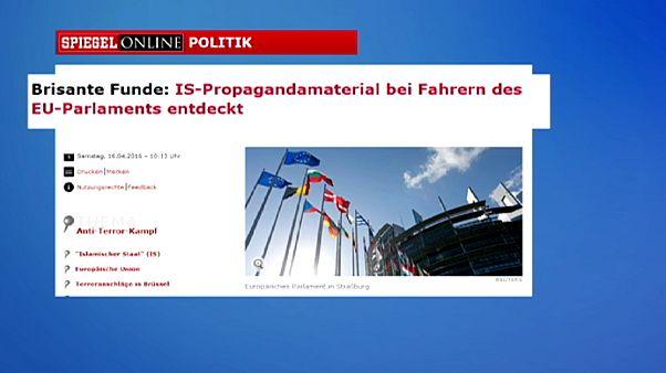 Encuentran propaganda yihadista en manos de dos conductores del Parlamento Europeo
