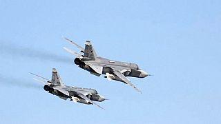 Orosz vadászgép izmozott egy amerikai felderítővel