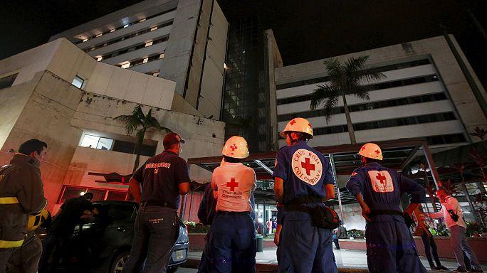 Ecuador shaken by massive earthquake