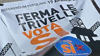 Italia vota en referendum si acabar con las plataformas petrolíferas en sus aguas territoriales