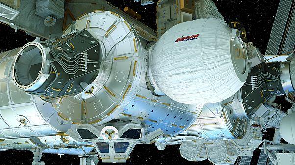 ISS prepara terreno para instalação de novo habitat