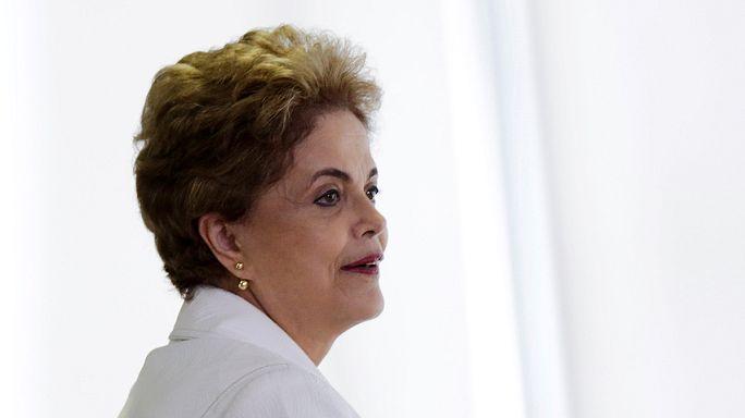 البرلمان البرازيلي يصوت على مصير الرئيسة روسيف