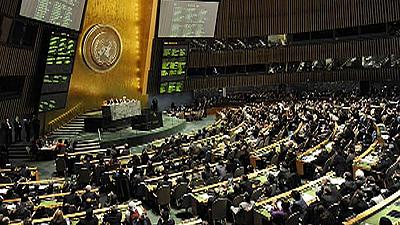 Front runners emerge after candidates appear before the UN General Assembly