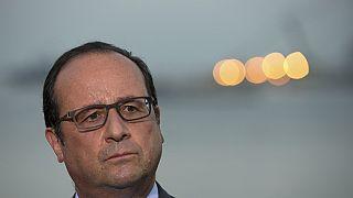 François Hollande est arrivé au Caire