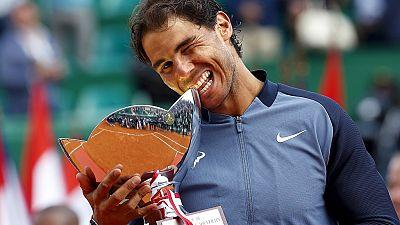 Tennis : Nadal remporte le Masters 1000 de Monte-Carlo
