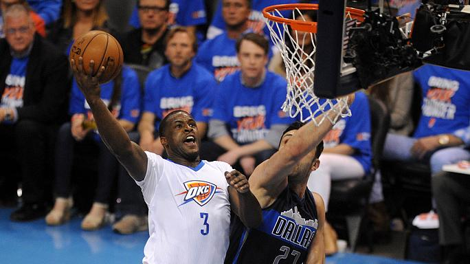 Oklahoma kick start NBA playoff with Dallas demolition
