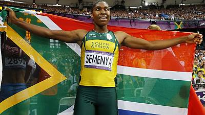 South Africa's Caster Semenya runs fastest 400 metres of 2016