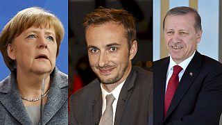 Merkel, la sátira y Erdogan