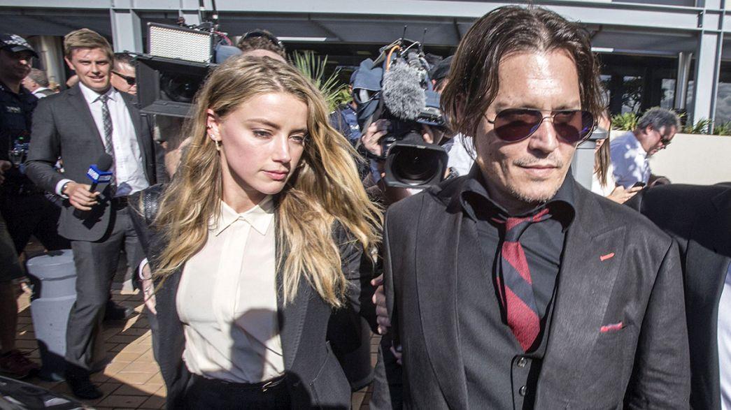 Australia: moglie Depp chiede scusa per vicenda cani ed evita carcere