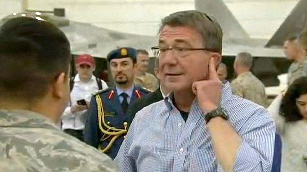 US-Verteidigungsminister Carter zu Überraschungsbesuch in Bagdad