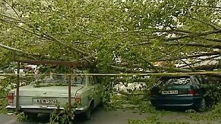 Γεωργία: Ισχυροί άνεμοι σαρώνουν τη χώρα