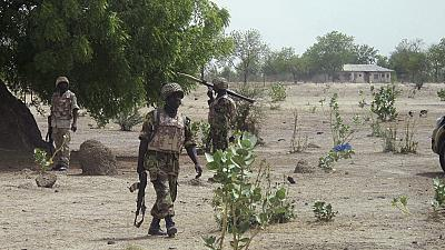 Boko Haram insurgents battle soldiers in northeast Nigeria