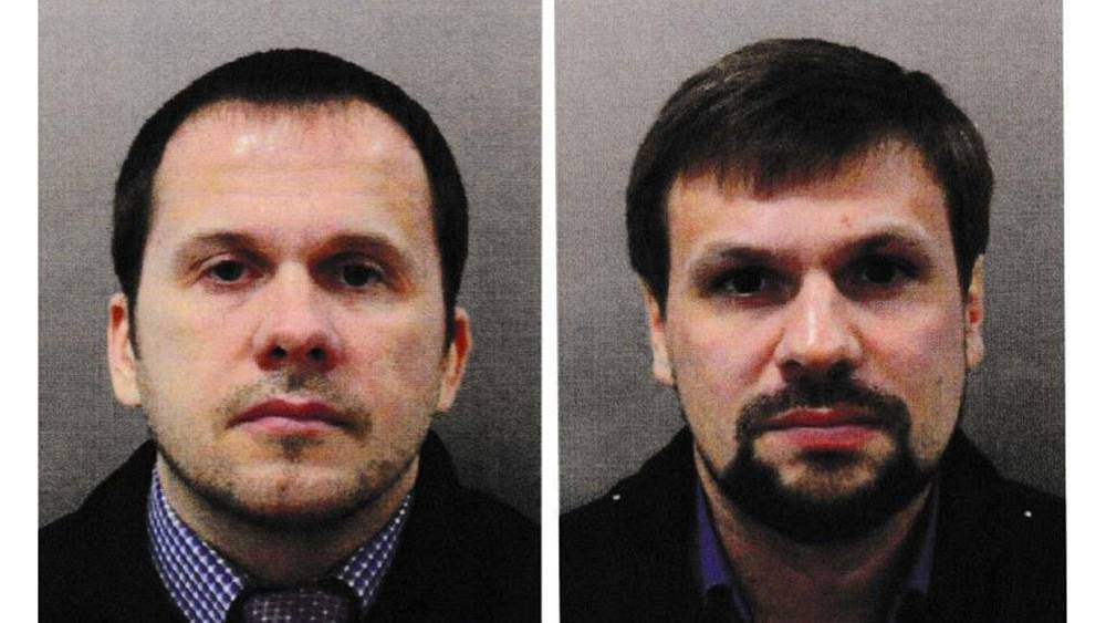 Two Russians charged over ex-spy's nerve agent poisoning