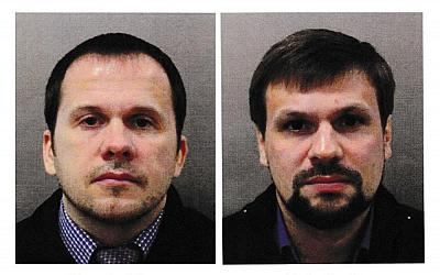 Alexander Petrov and Ruslan Boshirov have been charged in connection with the nerve agent poisoning of ex-spy Sergei Skripal and his daughter Yulia.
