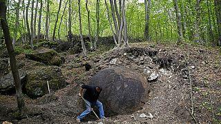 Bosnie : découverte d'une mystérieuse sphère