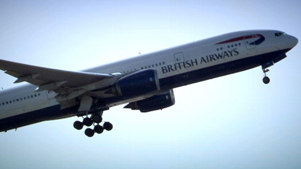 Un drone impacta contra un avión de British Airways en el aeropuerto londinense de Heathrow