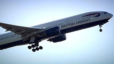 Colisão entre avião e drone no céu de Londres