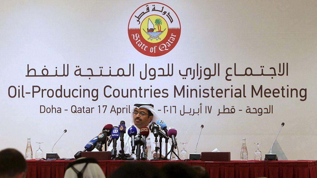 Petróleo em queda após fracasso da reunião de Doha