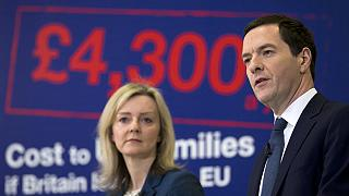 """Osborne advierte de que el """"brexit"""" podría disminuir los ingresos de las familias"""