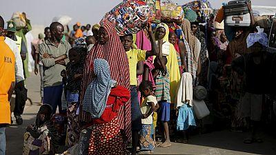 Des déplacés nigérians venant du Cameroun relocalisés