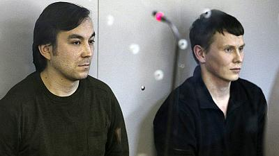 "Ukraine finds two Russian servicemen guilty of ""terrorism"""