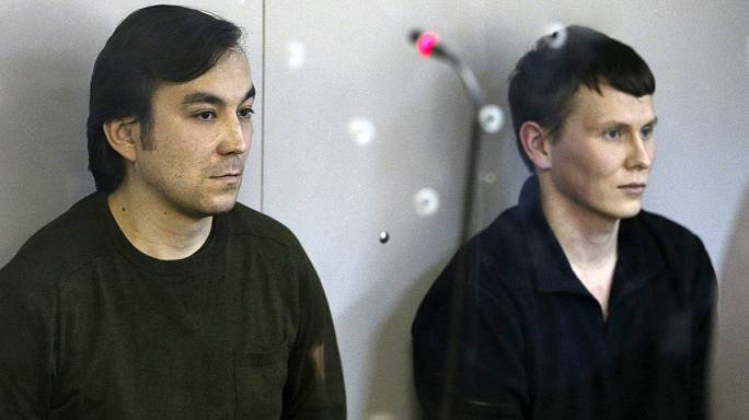 Cуд в Киеве приговорил россиян Ерофеева и Александрова к 14 годам тюрьмы