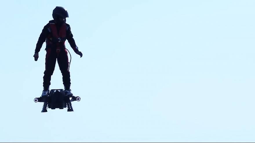 Flyboard Air, l'hoverboard du futur?