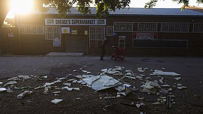 Xenophobic protests amid looting hits South Africa