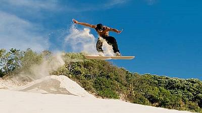 Sandboarding gives hope to South African youths