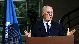 Oppositionsvertreter unterbrechen Syrien-Friedengespräche