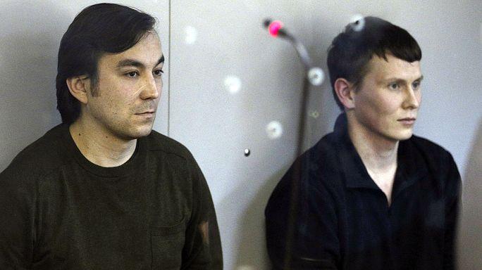 Ukraine : 14 ans de prison pour deux militaires russes présumés