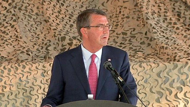 وزير الدفاع الأمريكي في العراق لتعزيز الدعم العسكري لبغداد وكردستان