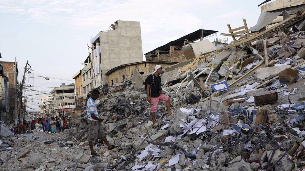 Death toll rises to above 400 following Ecuador earthquake