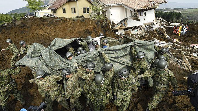 Япония: новая серия землетрясений на острове Кюсю
