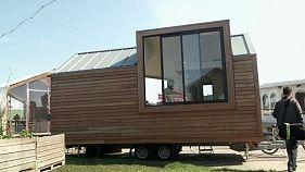 Las viviendas sostenibles son ahora hechas con técnicas innovadoras