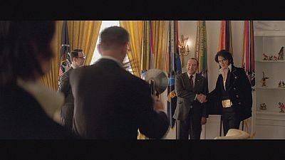 Elvis & Nixon: historic meeting hits silver screen
