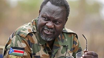 S. Sudan rebel chief yet to arrive in capital Juba