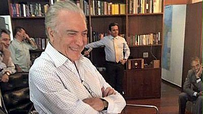 Michel Temer: Einst Rousseffs Mitstreiter, jetzt Rivale