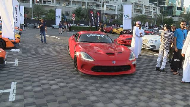 Flashy cars take over Dubai for Gulf Car Festival