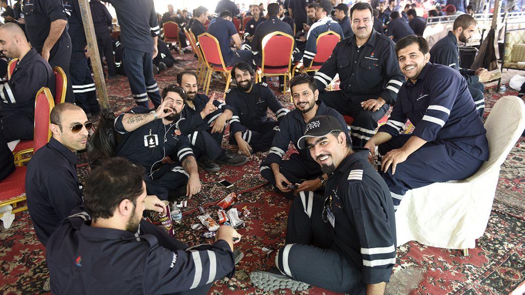 Kuveyt'te petrol işçileri greve gitti, üretim yüzde 60 geriledi