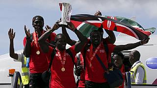 Heroes welcome for Kenya's sevens rugby team