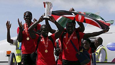 Rugby à VII : retour au bercail en couleurs de l'équipe kényane