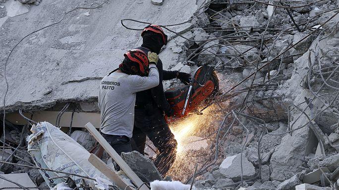 إرتفاع عدد ضحايا زلزال الاكوادور الى 480 قتيلا على الأقل