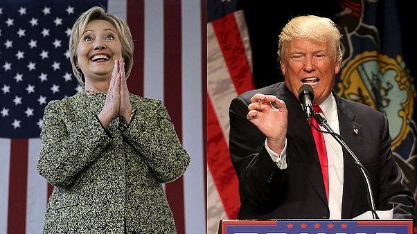 Donald Trump et HIllary Clinton remportent les primaires de New-York